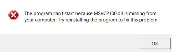 msvcp100dll-error